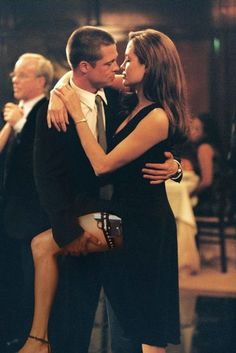 Brad Pitt and Angelina Jolie in 'Mr. & Mrs. Smith' - Real-Life Couples Who Fell in Love On-Camera - Photos