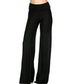 Look at this #zulilyfind! On Trend Black Palazzo Pants by On Trend #zulilyfinds