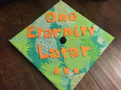 SpongeBob reference graduation cap