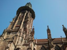 munster ( church ) at Freiburg, Germany - one of the oldest church