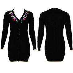 #whoswho #greenbird #marinamall #abudhabi #abudhabifashion #abudhabistyle #dubai #dubaifashion #dubaistyle #fashionista #womenswear #eveningwear #casualwear #fall2013 #winter2014 #cardigan #bejeweled #ornament #black #buttonup