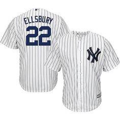 majestic mens replica new york yankees jacoby ellsbury #22 home jersey baseball
