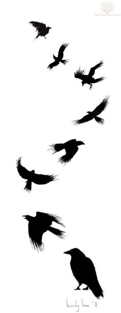 flying-crow-tattoo-design.jpg (600×1556):