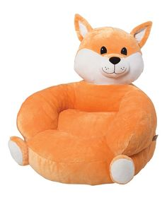 Look at this Trend Lab Fox Plush Chair on #zulily today!