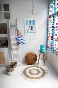 AEGEAN BLUE INSPIRATION  On the beach - under the sun - style inspiration for you and your island home.