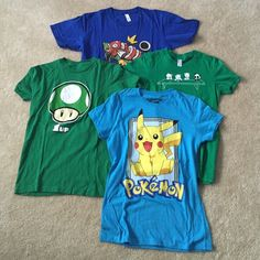 Bundle of Size Small Graphic Tees  Bundle of Size Small Graphic Tees  / Good Condition American Apparel Tops Tees - Short Sleeve