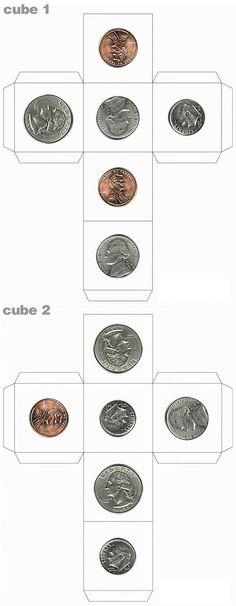 Coin Sorting Freebie Pinterest