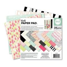 The Love Notes Collection x Paper Pad by We R Memory Keepers will give you hours of fun creating delightful and adorable love- Victoria Secret Rooms, Party Deco, Scrapbooking, Project Planner, We R Memory Keepers, Erin Condren Life Planner, Baby Makes, Pad, Note Paper