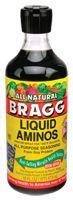 Braggs - soy sauce - low sodium, same great taste!