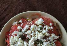 Κρητικός Ντάκος Eat Greek, Food Decoration, Oatmeal, Grains, Rice, Breakfast, Fitness, The Oatmeal, Morning Coffee