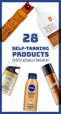 28 Self-Tanning Products That People Actually Swear By