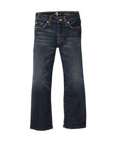 7 for all mankind standard denim jeans in oregon wash