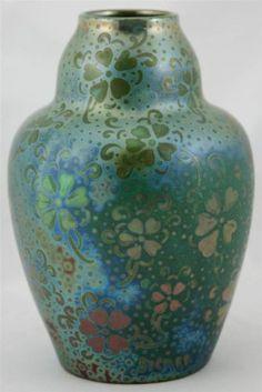 "Weller Pottery, Sicard  8 5"" Vase"