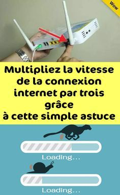 Multipliez la vitesse de la connexion internet par trois grâce à cette simple astuce ! Le Wifi, Application Icon, Software, Small Room Bedroom, Window Cleaner, Facetime, Arduino, Woodworking Plans, Netflix