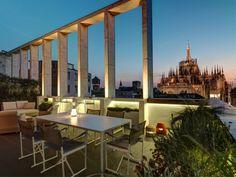 8&a architetti / attico con vista del doumo di milano Casa Milano, Marina Bay Sands, Building, Outdoor Decor, Projects, Travel, Home Decor, Houses, Italia