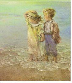 En la playa - Lisi Martin