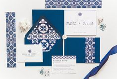 This beautifully designed Mediterranean Invitation is a 4 page Portugal Destination Wedding Invitation booklet that includes inspiration from the famous Lisbon Blue tiles (Azulejo Tiles). Destination Wedding Cost, Luxury Wedding Venues, Destination Wedding Invitations, Diy Wedding Favors, Custom Wedding Invitations, Wedding Vendors, Wedding Decorations, Wedding Ideas, Portuguese Wedding
