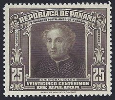Panama Scott #285 (Dec 1936) The Jovian Portrait of Christopher Columbus.   Paulus Jovius (or Paolo Giovio in Italian) was a wealthy Italian physician. Speculation suggests that he hired an unknown artist to do this portrait of Christopher Columbus.