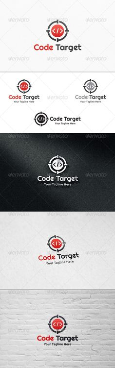 Code Target V2 - Logo Template