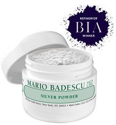 Silver Powder from Mario Badescu Skin Care via mariobadescu.com