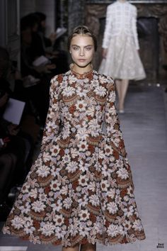 VALENTINO HOUTE COUTURE SPRING/SUMMER 2013 High Fashion Haute Couture glamour featured - cara delevigne