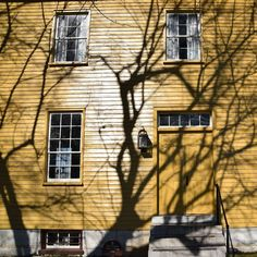 Afternoon shadows at historic @shakervillageky by os83