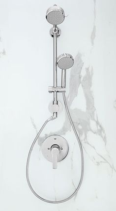 The slide bar for Grohe's Retro-Fit Shower System hand shower does double-duty as a plumbing pipe that taps water directly from the old shower head connection. That means you can pull off a stylish upgrade without opening up the tiled wall. Sounds like a perfect Saturday morning to us.