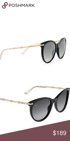 d0490b7b01e Gucci Sunglasses Gucci Sunglasses black plastic and gold metal!brand New  Gucci Accessories Glasses