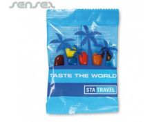 Jelly Beans in printed Polybag   Promotional Jellys   Sense2 Promotional Products & Items   Branded Corporate Gifts