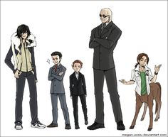 ..::AF: TTP: The Main Cast::.. by Megan-Uosiu on DeviantArt