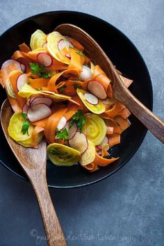 Shaved beet, carrot, and radish salad. Top 10 Ideas for Your Clean Eating Meal Plan