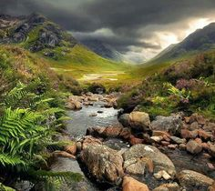 Beautiful Scotland.