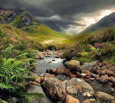 Beautiful Scotland.