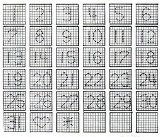 Plastic Canvas Perpetual Calendar