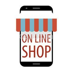 Online shop smart phone #buttons #designs #internet, #tools #icon #technology #image #decoration #market #buy #sales #people #mall #concept #online #commerce #graphic #vector