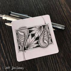 Artist Focus: Anica of Zen Linea - The Tireless Tangler Tangle Doodle, Tangle Art, Zen Doodle, Doodle Art, Doodle Designs, Doodle Patterns, Zentangle Patterns, Line Patterns, Doodle Borders