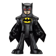 Bruce Wayne/Batman figure from Imaginext Gotham City play set.  Pretty cool.