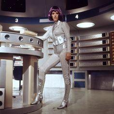 UFO, Andrea Allan as Moonbase Operative Sci Fi Films, Sci Fi Tv, Sci Fy, Ufo Tv Series, Non Plus Ultra, Space Girl, Vintage Tv, Classic Tv, Actresses