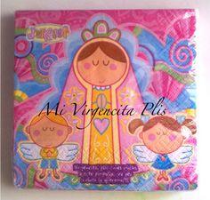 Servilletas Virgencita Plis 16pz