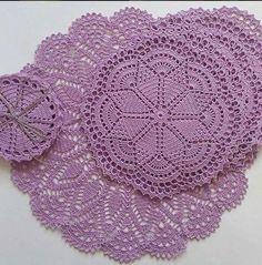 Crochet everything. Free Crochet Doily Patterns, Crochet Symbols, Crochet Motifs, Crochet Squares, Thread Crochet, Filet Crochet, Crochet Home, Love Crochet, Crochet Dollies