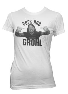 Dave Grohl Foo Fighters Nirvana Rock & Roll grunge metal retro photo t-shirt | eBay
