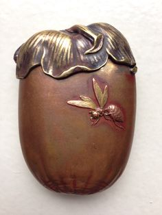 Japanese match safe - Private collection
