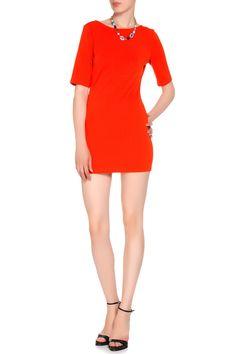 облегающее трикотажное платье длины мини, оранжевого цвета Mini, Dresses, Fashion, Gowns, Moda, Fashion Styles, Dress, Vestidos, Fashion Illustrations