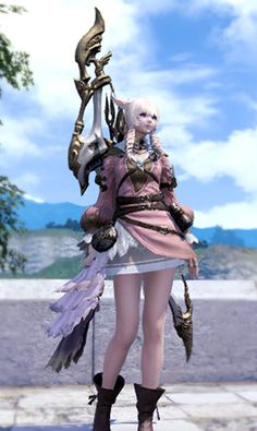Ffxiv best options for a large muscular character