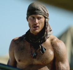 Tom Hopper as Billy Bones, from Episode 4 of Black Sails