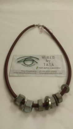 Hard Wear – Mixed NutWash by WIREDbyTATA on Etsy