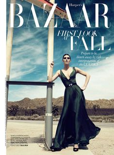 Pretty Pictures: Hilary Rhoda in Harper's Bazaar | Searching for Style