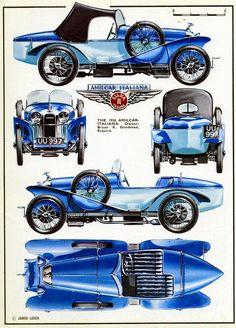 1934 Amilicar Italiana