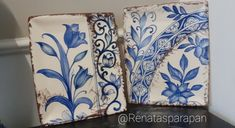 Manado, Hand Painted Ceramics, Ceramic Painting, Decorations, Curtains, Shower, Prints, Bass, Enamel