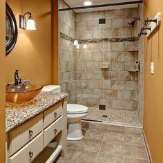 www.houzz.com/photos Guest bathroom